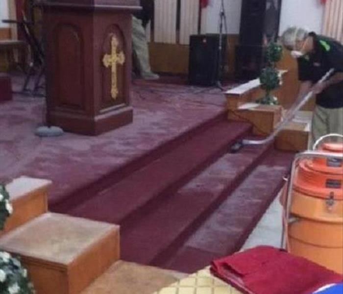 Commercial Church Vandalism Clean Up