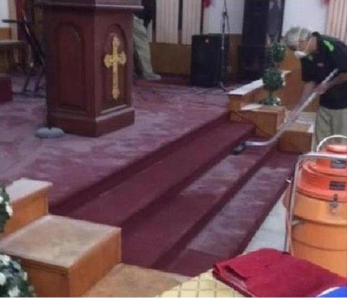 Commercial Church Vandalism Cleanup